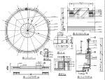 大堂环形栏杆详图