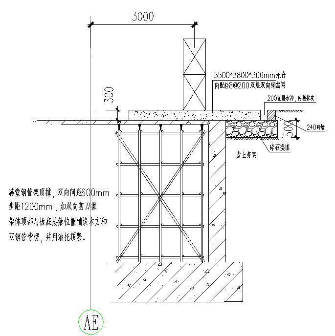 [天津]国际医院工程人货电梯基础方案(SC200/200型,创鲁班奖)