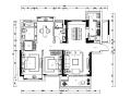 整套古典风格样板间设计CAD施工图(含效果图、3D文件)