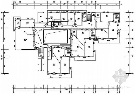 苏州某小区内二层幼儿园电气图纸