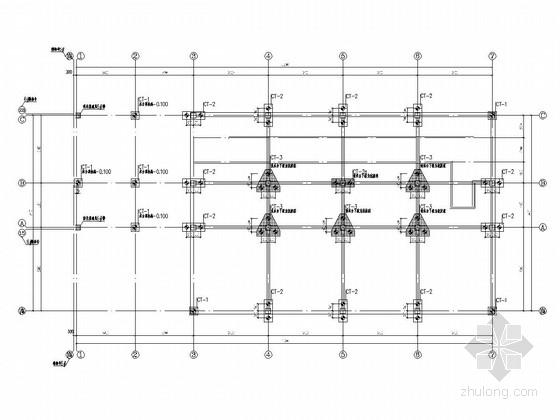 [吉林]地上三层框架结构办公楼结构施工图