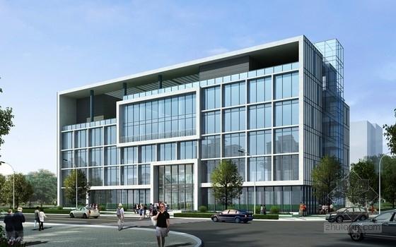 [安徽]5层现代简约风格办公楼建筑设计方案文本