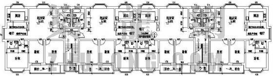 某住宅楼平面图设计方案