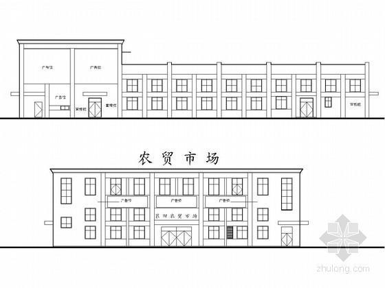 [温州]两层框架结构小菜场结构施工图