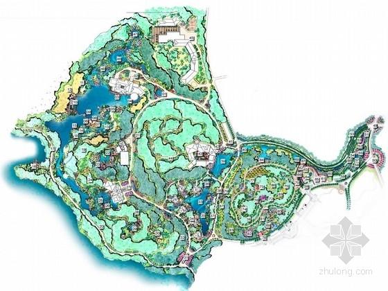 [广州]岭南山水文化休闲度假酒店景观规划设计方案