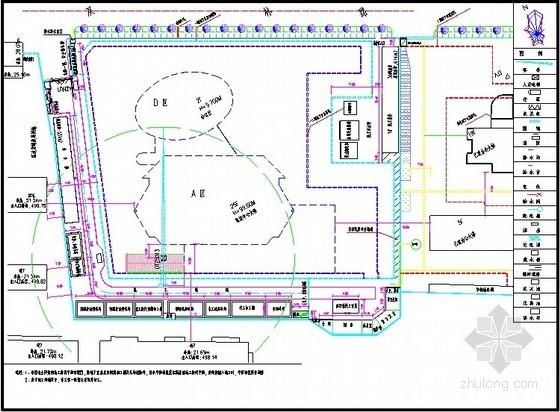 办公楼工程施工现场平面布置图及临时设施详图(15张)