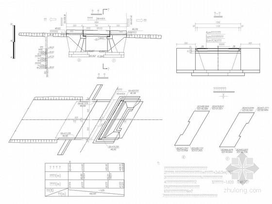 [安徽]1X8米钢筋混凝土现浇板桥施工图21张(斜交120°)