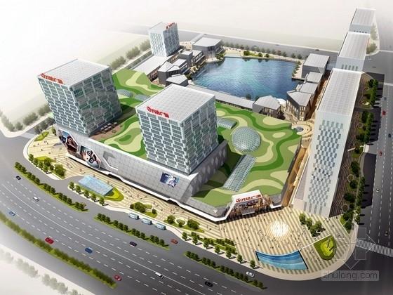 [安徽]城市中心商业广场景观规划设计方案