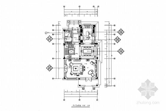 [南通]沿海城市化示范区豪华欧式三层联排别墅装修图(含实景图)