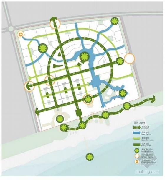[海南]海景公寓景观初期概念规划深化设计-分析图
