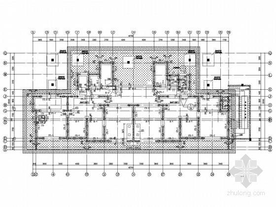 27层剪力墙结构高层住宅楼结构施工图(地下一层)