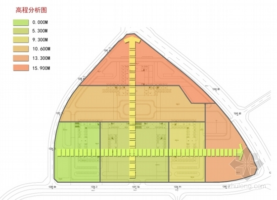 [四川]现代风格高层市区行政办公建筑设计方案文本-现代风格高层市区行政办公建筑分析图