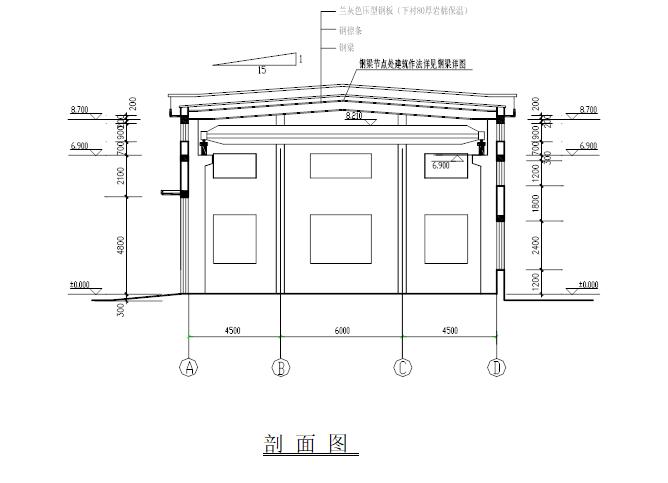 钢结构单层厂房施工组织设计(共61页)
