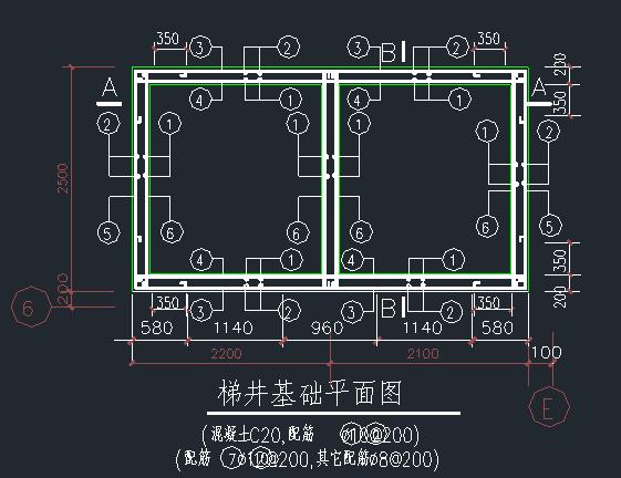 电梯井道结构施工图_1