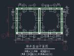 电梯井道结构施工图
