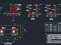 新建航空配餐服务工业厂房三层框架结构图