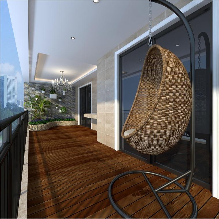 深圳南山绿海湾170平方米4居室(优雅欧式)_6