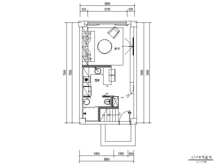 一套完整的小跃层设计施工图