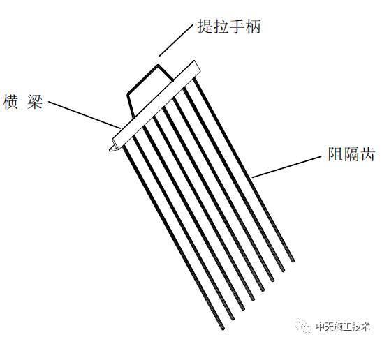 阻隔器控制不同强度混凝土节点施工工法