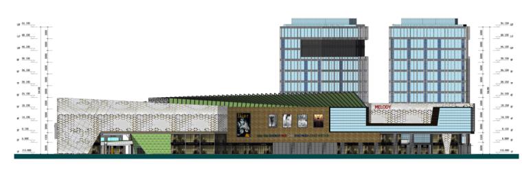 [浙江]高层现代经典风格商业及金融办公中心建筑设计方案文本_10