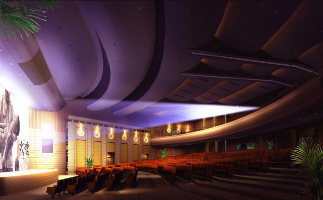 观众厅角度四_副本-钢花影剧院设计方案第6张图片