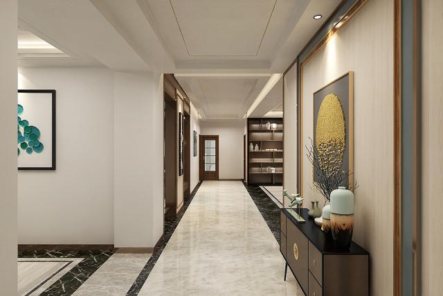 走廊--新中式风格第8张图片
