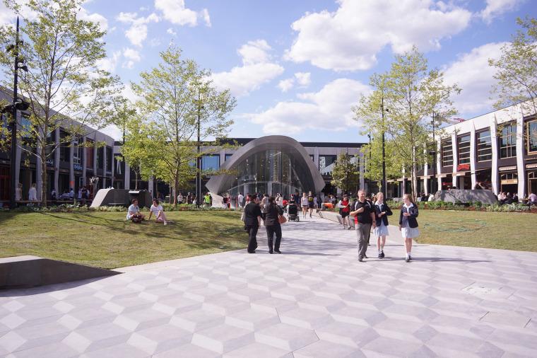 澳大利亚Eastland城市广场和图书馆