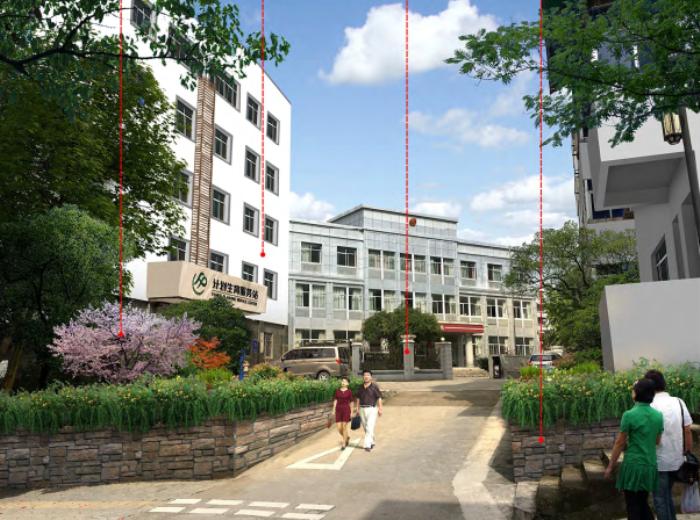 [浙江]乡镇环境综合整治改造城市规划景观设计-景观效果图8