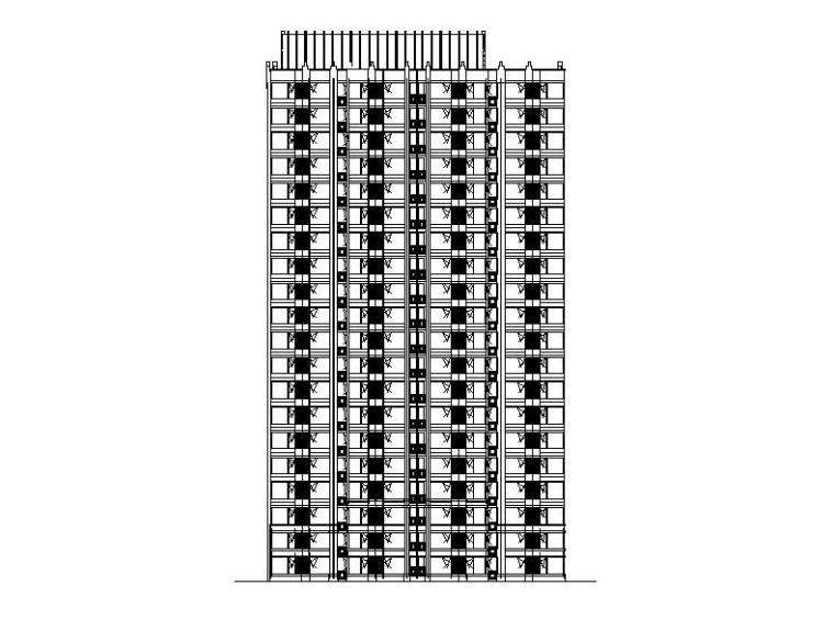 [北京]高层框架结构住宅建筑施工图(含结构专业)