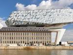 新与旧的交融变幻:扎哈事务所设计的安特卫普港口集团大楼近日建