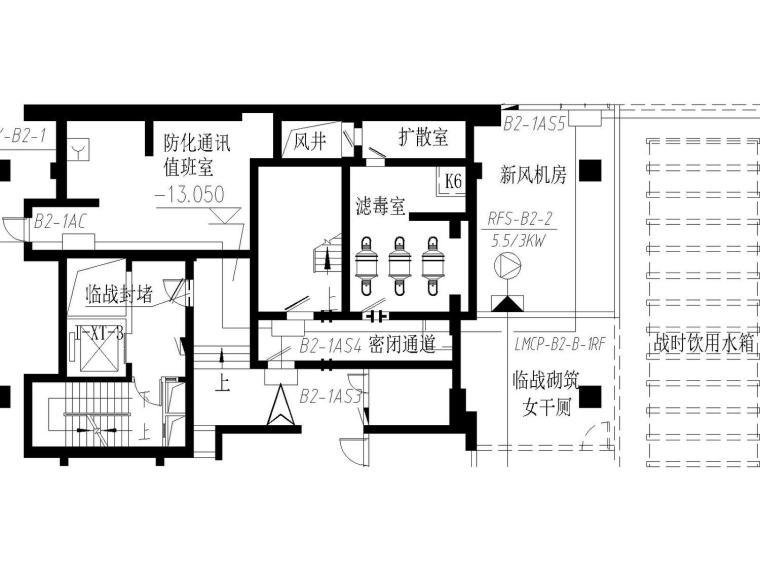 [辽宁]某商业住宅办公餐饮综合体大型施工图