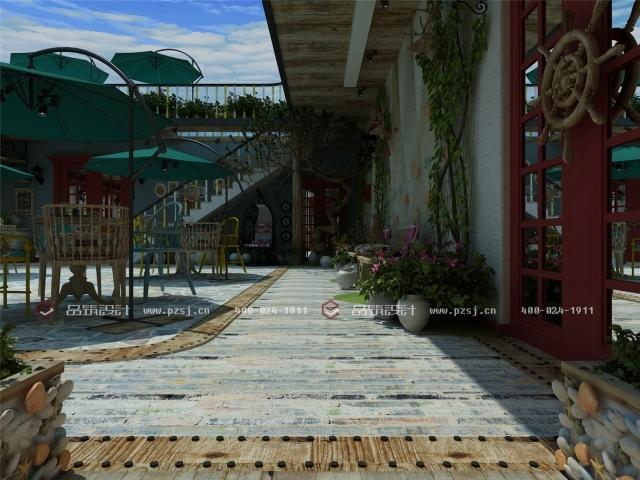 据说这是丹东最美的休闲度假民宿设计,快去瞧瞧-05内庭院日.jpg