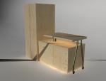 家庭组合柜3D模型下载