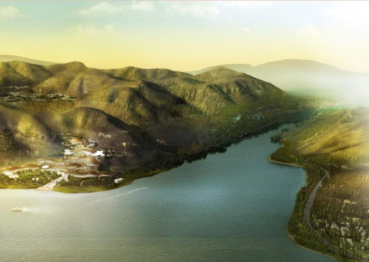 山东尼山文化旅游度假区旅游策划及概念性总体规划设计