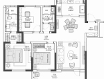 实用与美观并存,爆强收纳功能的室内设计方案