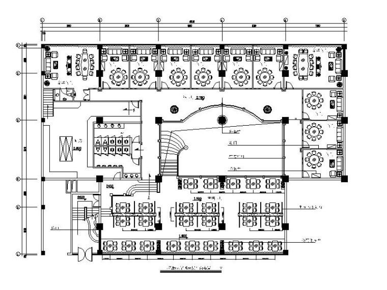 [湖北]特色火锅店包房室内设计施工图
