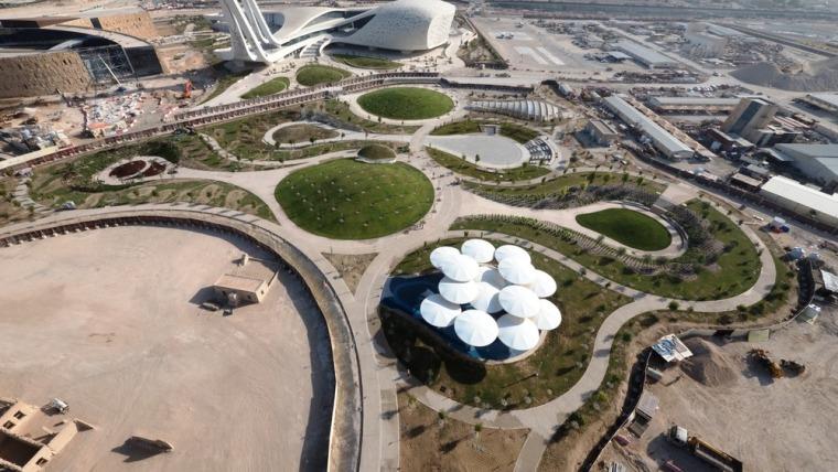 [知名设计公司特辑]走进AECOM的景观规划世界(70套资料在文末)-卡塔尔氧气公园-2