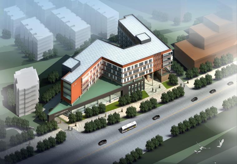 [江苏]南京所街基层社区中心建筑设计
