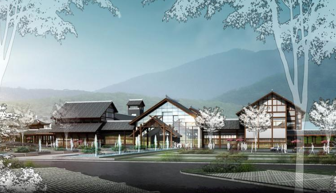 [陕西]绿色低碳现代农业产业观光园区景观设计方案