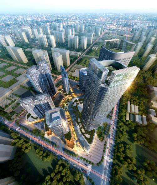 [广东]绿地中央广场佛山禅城区商业综合体设计文本