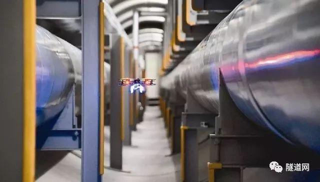 日本多企业联合进行隧道无人机验证试验,利用其检查供热管等市政