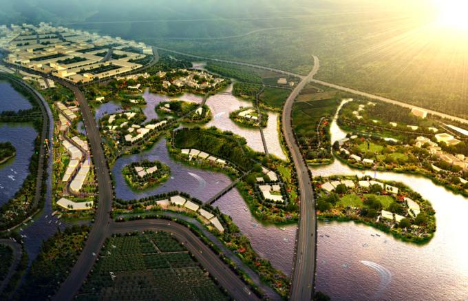 [合集][广东]海峡两岸创意生态农业城市规划设计方案(景观、旅游、详细修建、新农村、总体规划)_3