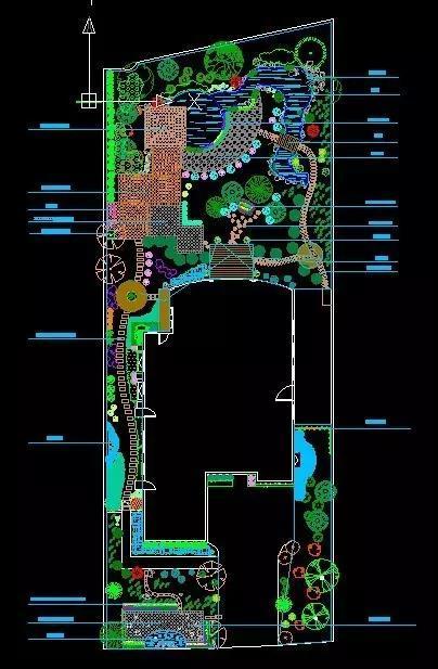 [免费]650套小区景观建筑规划设计CAD