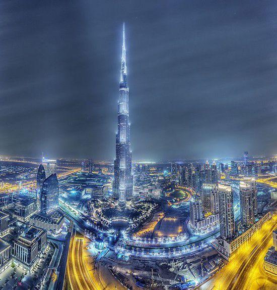 迪拜哈利法塔结构设计与施工