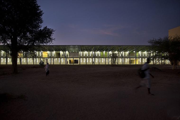 塞内加尔AliouneDiop大学教学楼-塞内加尔Alioune Diop大学教学楼实景图 (13)