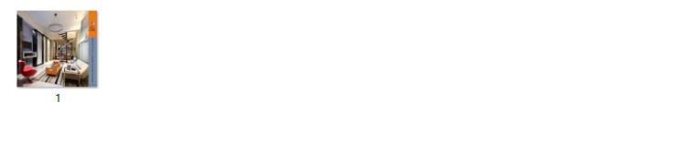 【广东】现代风格复式样板房CAD施工图(含效果图)_9