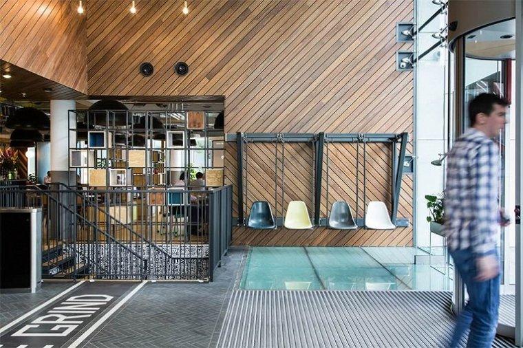 咖啡厅风格的联合办公空间-帕丁顿区WEWORK联合办公室室内实景图 (7)