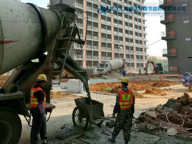 泵送全轻混凝土楼地面施工工艺流程