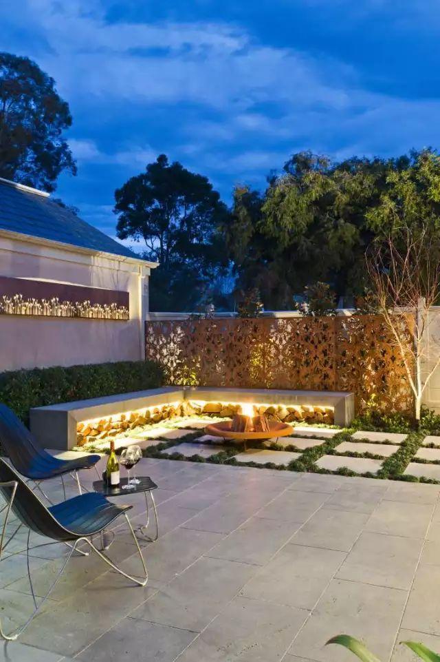 赶紧收藏!21个最美现代风格庭院设计案例_144