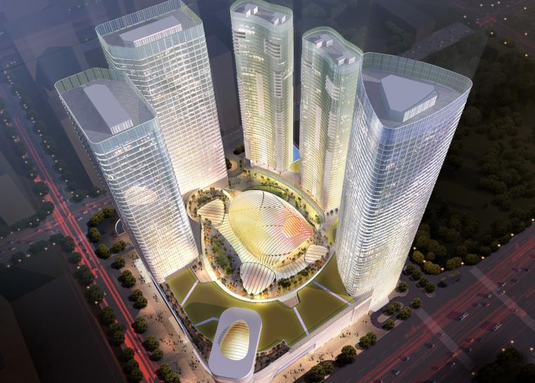 [四川]成都银泰中心建筑设计方案文本